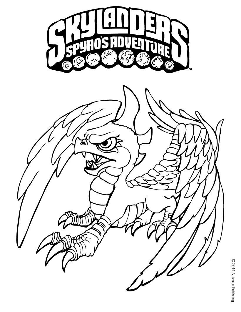 820x1060 Sensational Spyro Coloring Pages Printable The Dragon Page Free