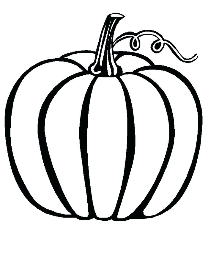 Squash Coloring Page