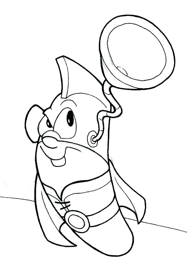600x883 Squid Coloring Page Boy For Coloring Boy Super Hearing Coloring
