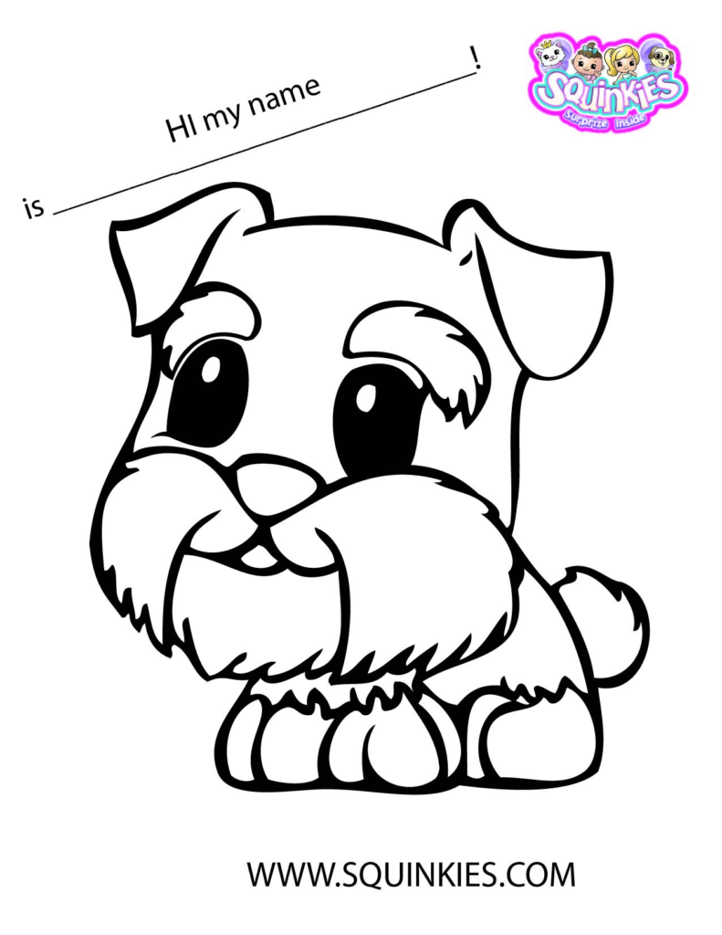 791x1024 Squinkies Coloring Pages Get Bubbles