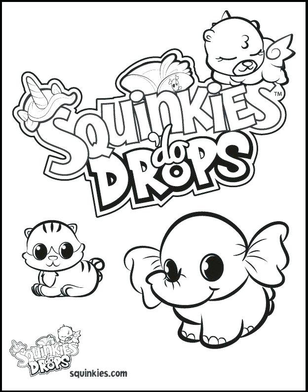 624x794 Squinkies Coloring Pages Do Drops Coloring Picture Squinkies