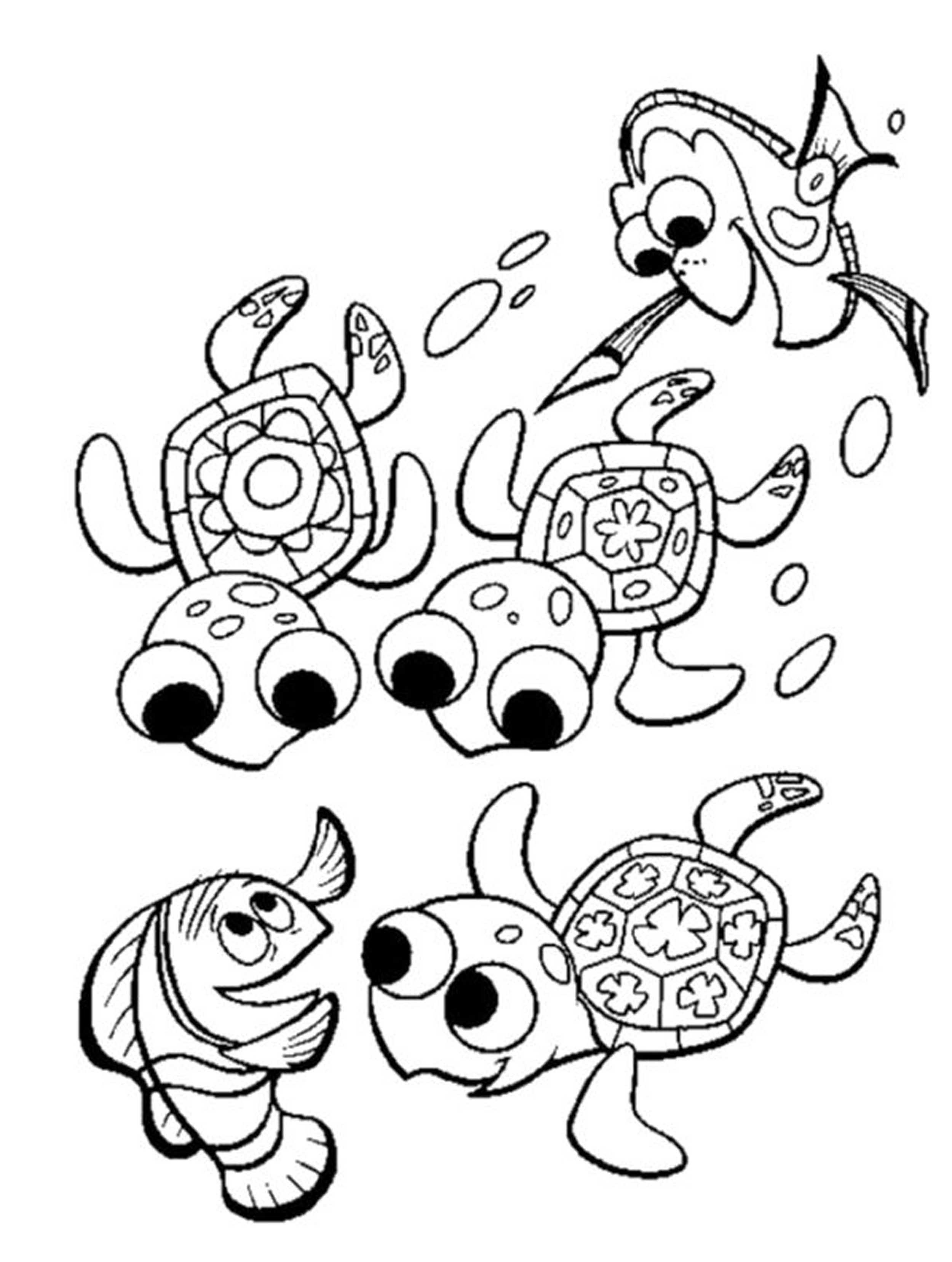 2500x3312 Crush And Squirt Coloring Pages Download Print For Free Craft