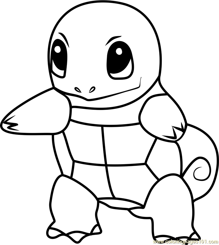 717x800 Squirt Coloring Pages