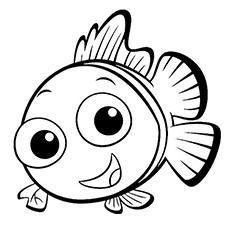 230x230 Finding Nemo Coloring Pages