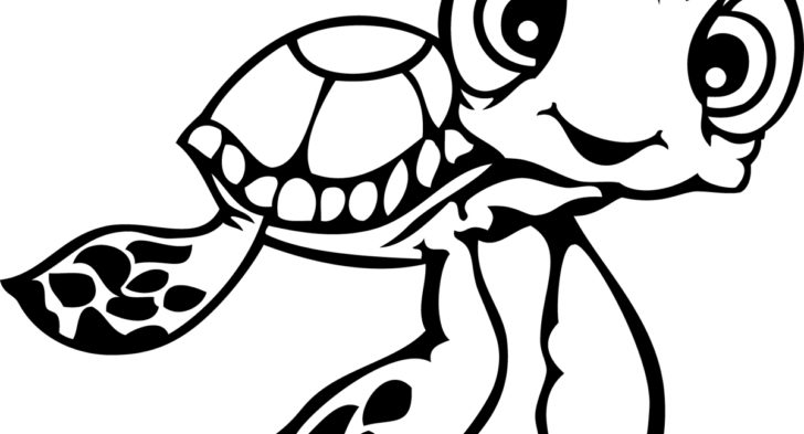 Squirt Finding Nemo Coloring Pages at GetDrawings.com | Free ...