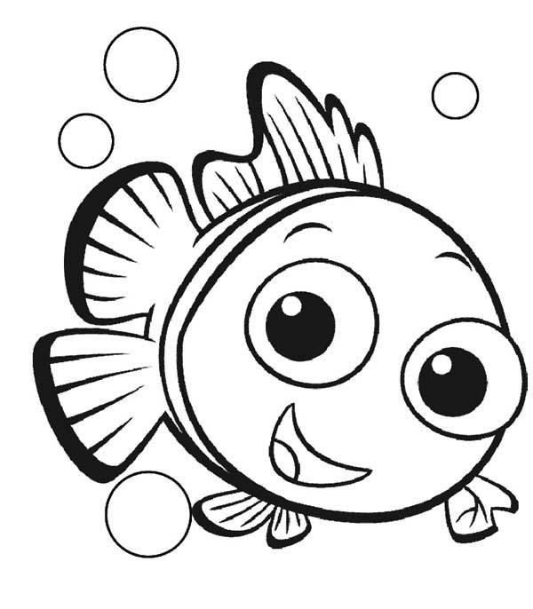 600x686 List Of Synonyms And Antonyms Of The Word Nemo Coloring Pages