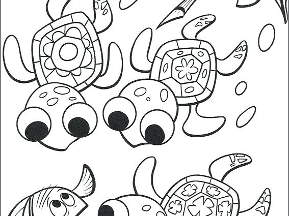 567x425 Nemo Coloring Pages Collection Of Coloring Sheets Finding Nemo
