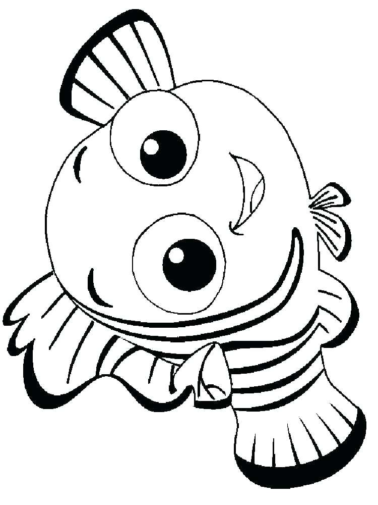 750x1000 Nemo Coloring Pages