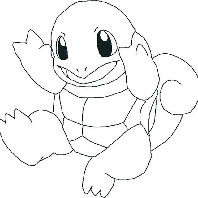 Squirtle Coloring Page at GetDrawings | Free download