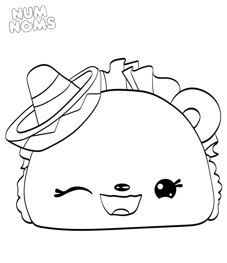 Squishy Coloring Pages At Getdrawings Free Download