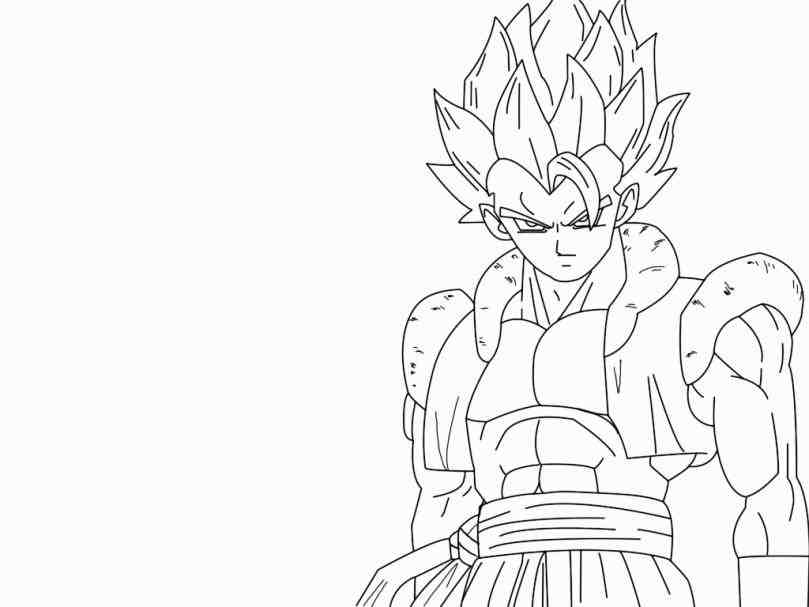 The Best Free Gogeta Coloring Page Images Download From 21 Free