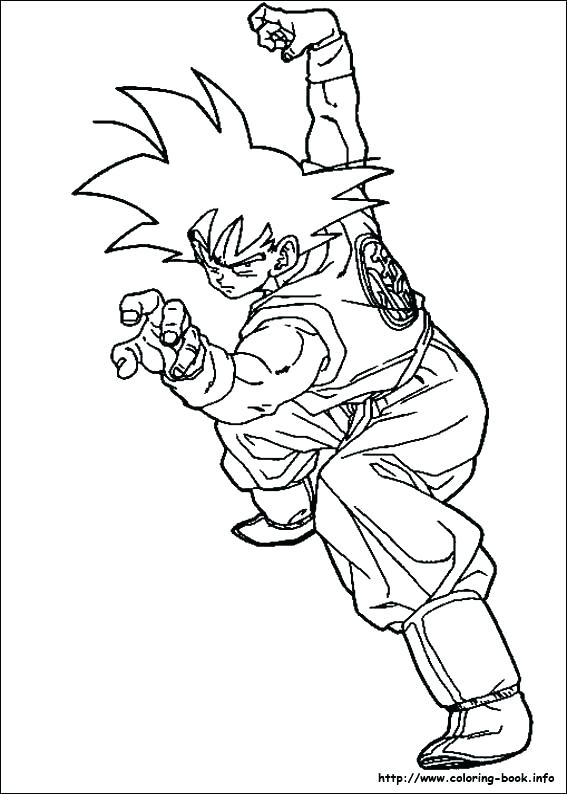 567x794 Goku Coloring Page Coloring Page Son Coloring Pages Located