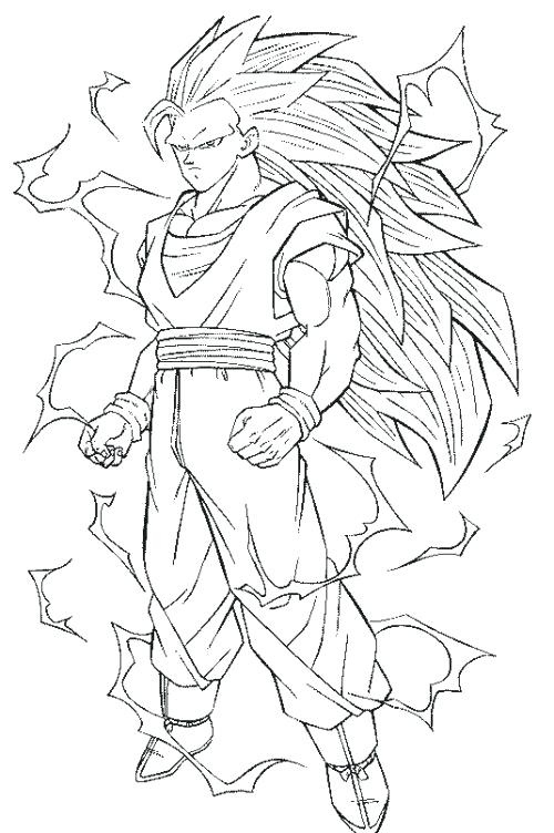 500x752 Goku Coloring Page Dragon Ball Z Coloring Pages Goku Coloring