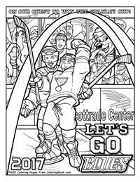 200x259 Coloring Books St Louis Blues Quest For The Cup