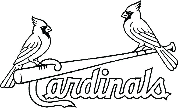 The best free Cardinal coloring page images. Download from ...