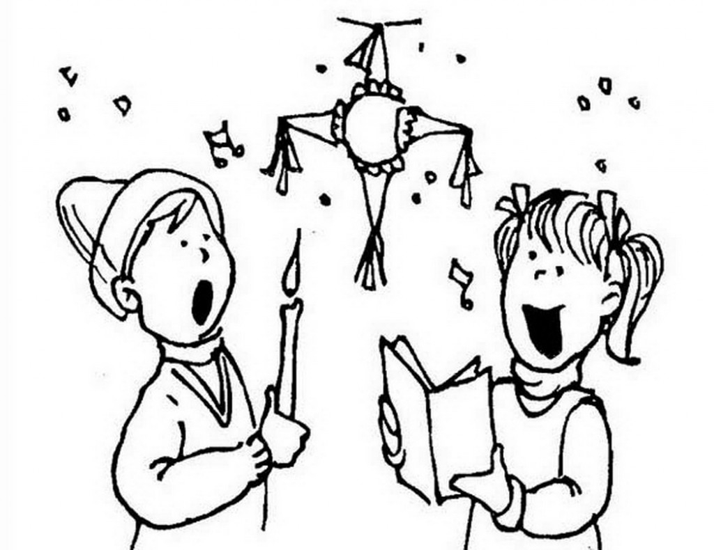 1024x790 Attractive Las Posadas Coloring Pages The Best Color Saint Lucia