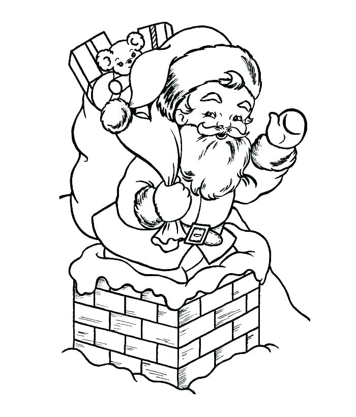 700x820 Mesmerizing Coloring Pages Santa Coloring Coloring Pages