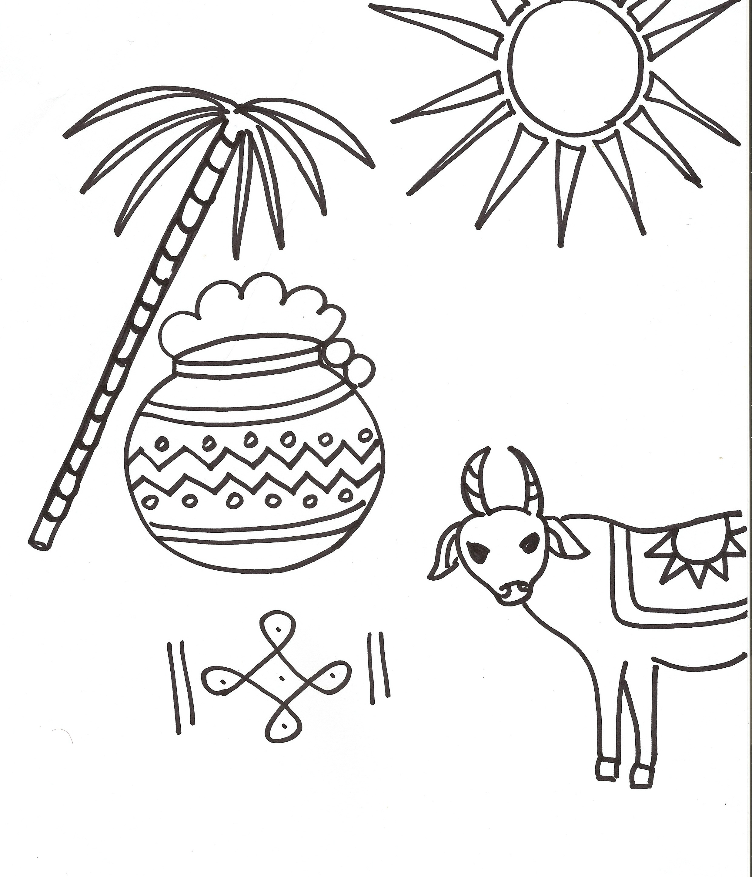 2481x2891 Saint Lucia Day Celebration Countries Cultures Coloring Pages