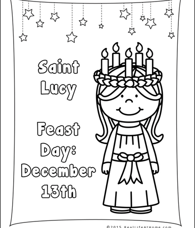 386x450 Saint Lucy Printables Packet