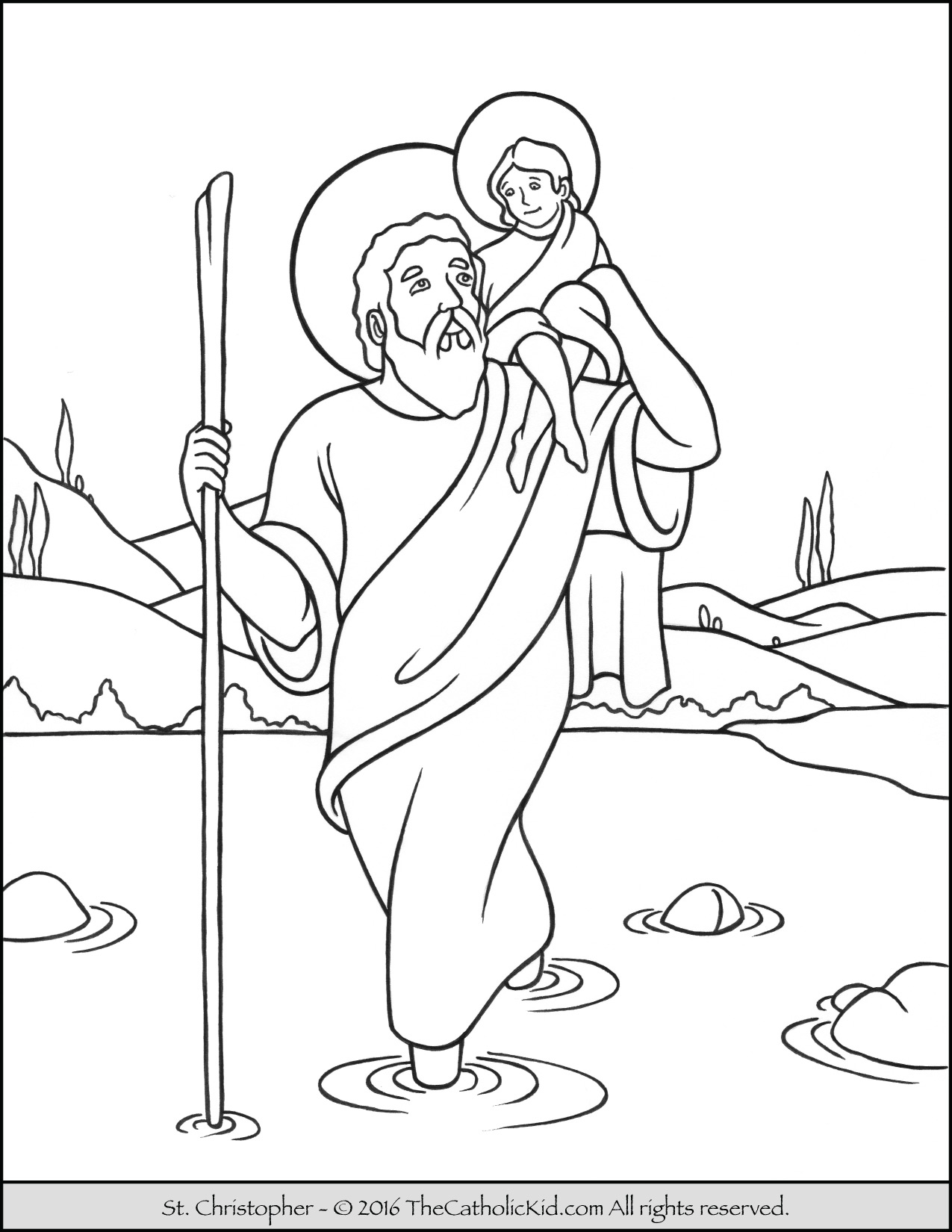1275x1650 Saint Peter Coloring Page The Catholic Kid Inside Pages