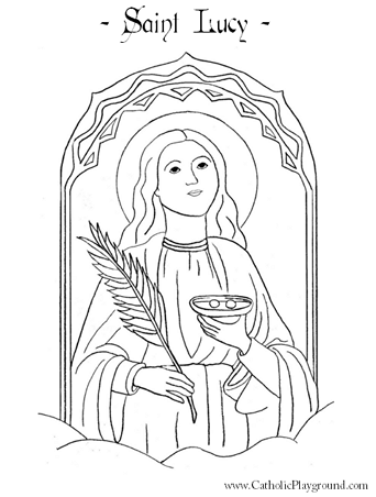 342x452 St Lucia Coloring Pages