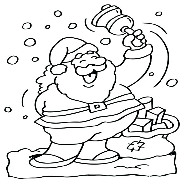 700x700 Coloring Page Of Santa Coloring Page For St Lucia Day