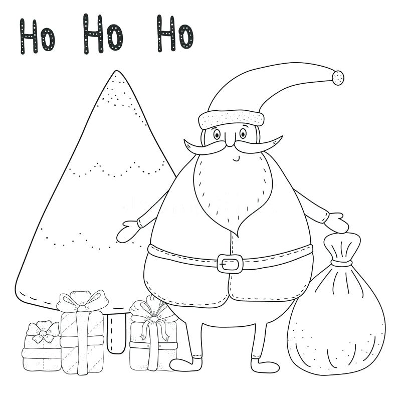 800x800 Coloring Page Santa Coloring Pages Of This Is Coloring Page Images