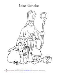 200x259 Cute Ideas For St Nicolas Day, Including Coloring Page And How