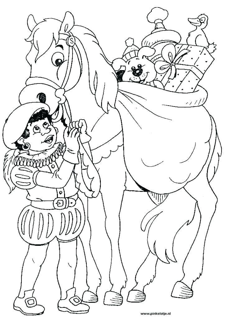 736x1040 Saint Nicholas Coloring Pages Saint Coloring Pages Dutch St Sketch