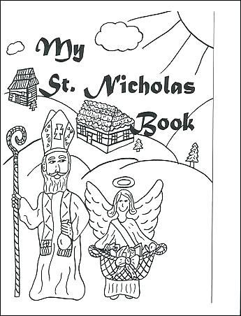 345x452 St Nicholas Coloring Page Saint Coloring Pages Saint Close Up