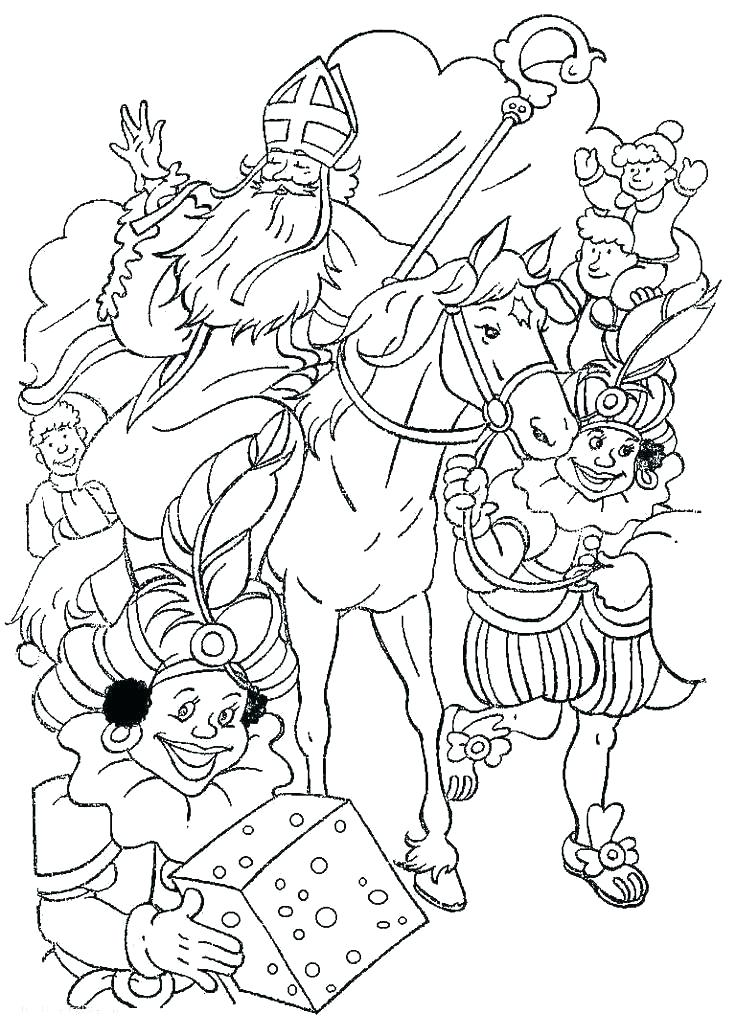 736x1036 St Nicholas Coloring Page St Coloring Page New St Coloring Home