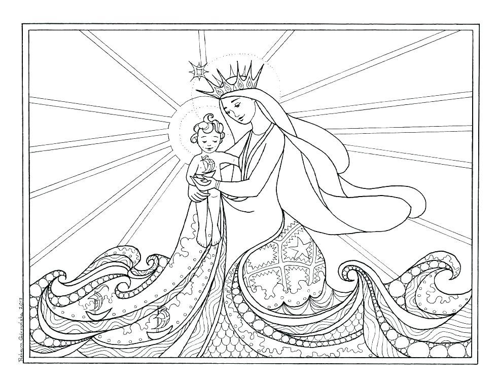 St Patrick Coloring Page Catholic at GetDrawings.com | Free for ...
