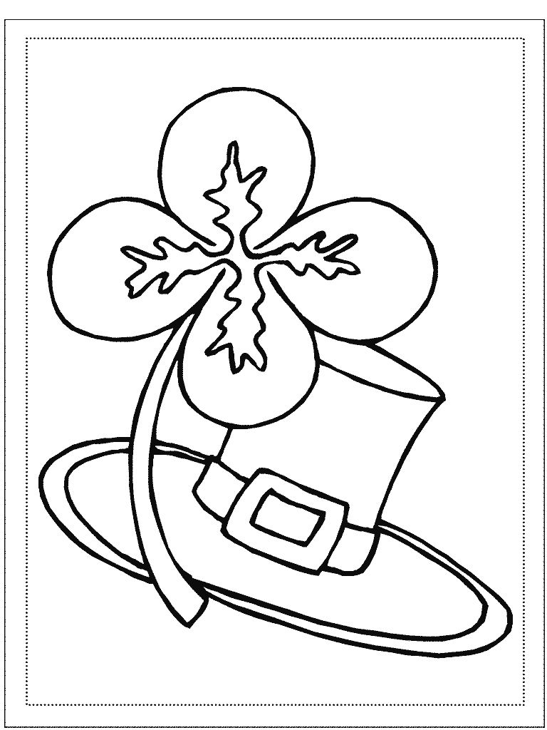768x1024 Best Of Free St Patricks Day Coloring Pages Coloring Page Free