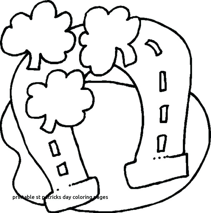675x680 Saint Patrick Day Coloring Pages Free Printable St S Day Coloring