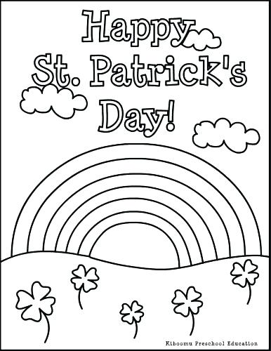 386x500 St Patrick's Day Coloring Pages Pdf