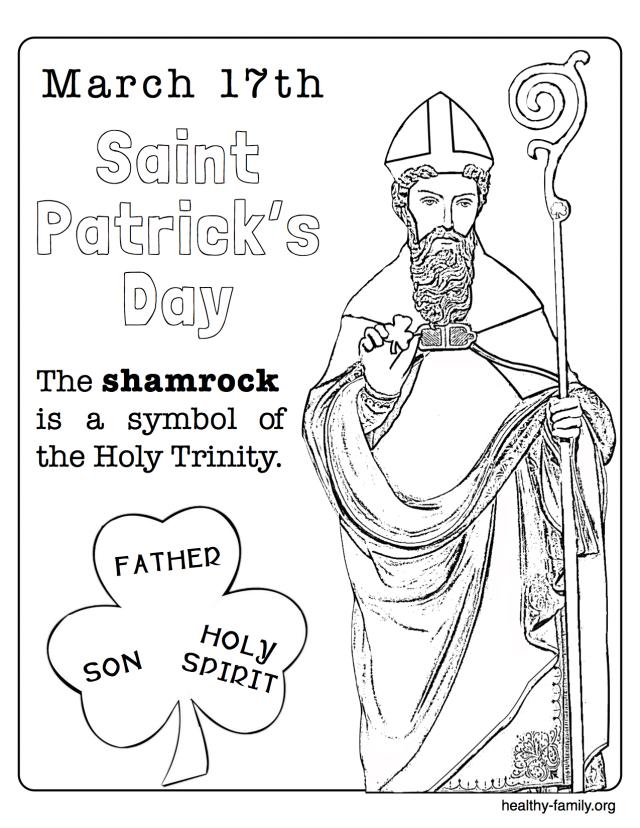 640x828 St Patrick Coloring Pictures Saint Patrick Coloring Page St