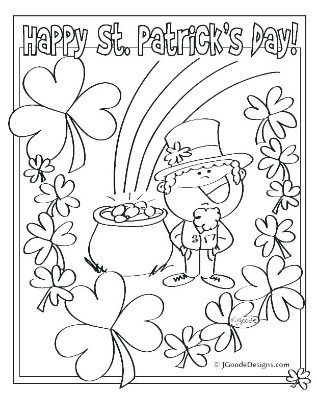 622x807 Coloring Pages For St Patricks Day Free St Day Coloring Pages
