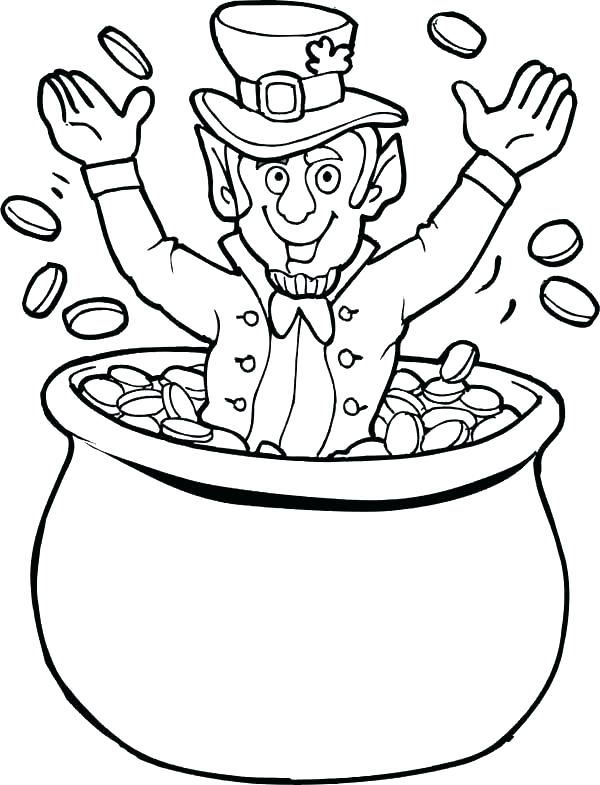 600x785 St Patrick Day Coloring Pages Free Full Size Of Printable St Day