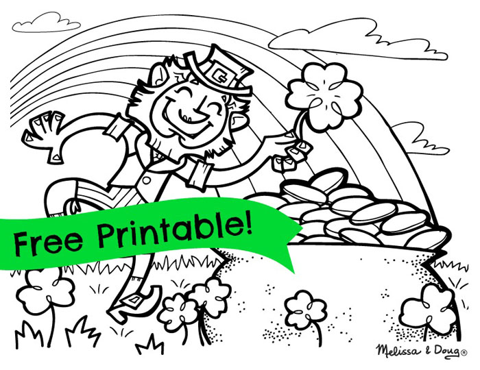 700x540 Free Printable St Patrick Day Coloring Pages Printable St Patricks