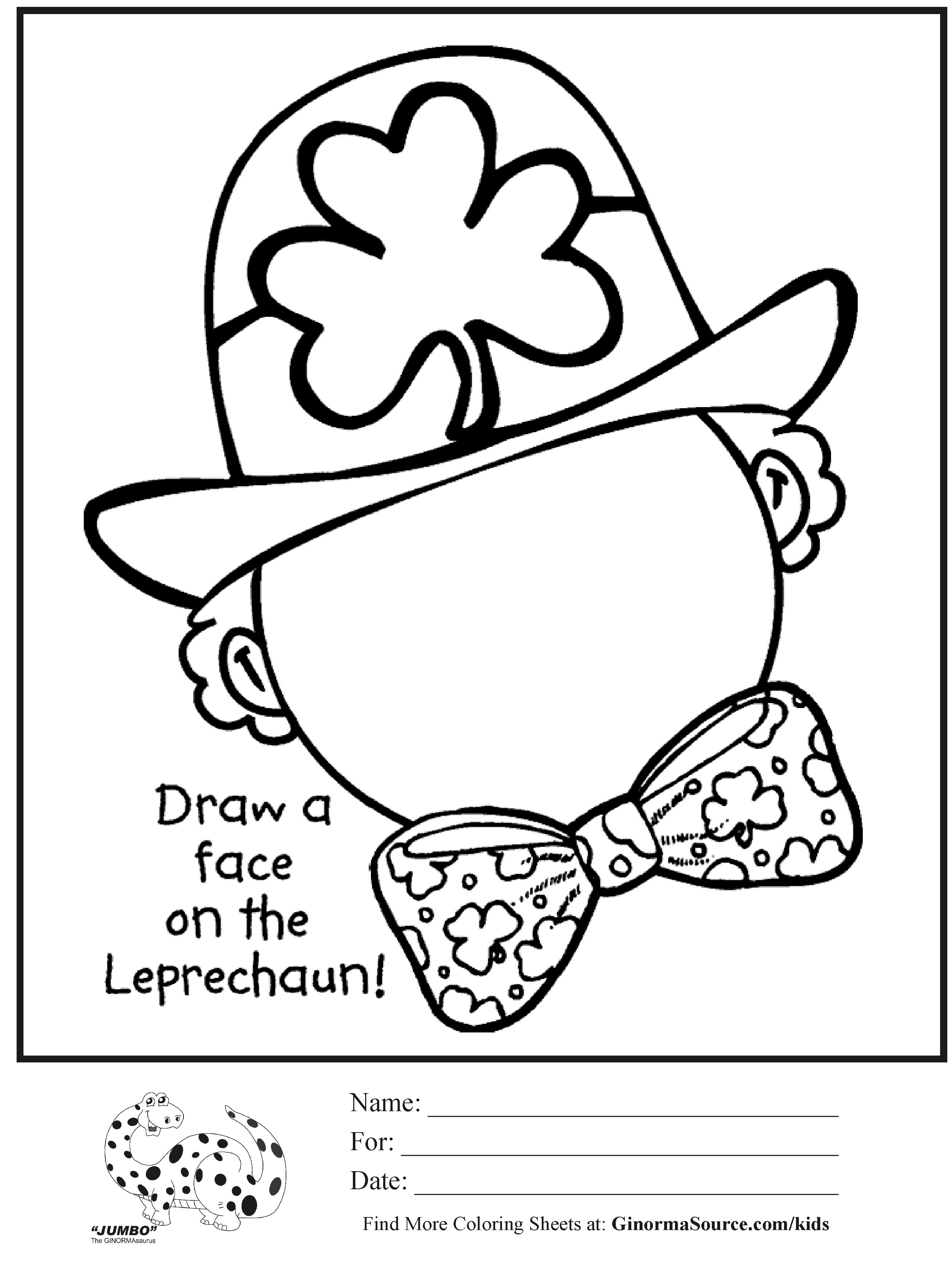 2636x3499 St Patricks Coloring Pages Day Patrick Sheets All Best Of Free