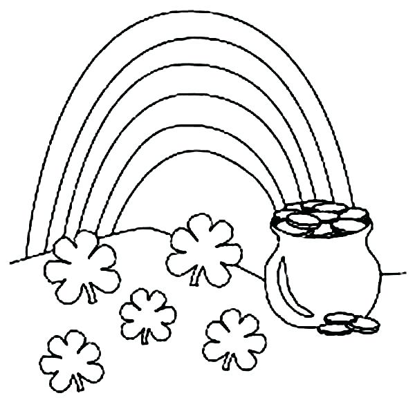 600x592 Free St Patrick Coloring Pages St Day Coloring Pages Free St Day