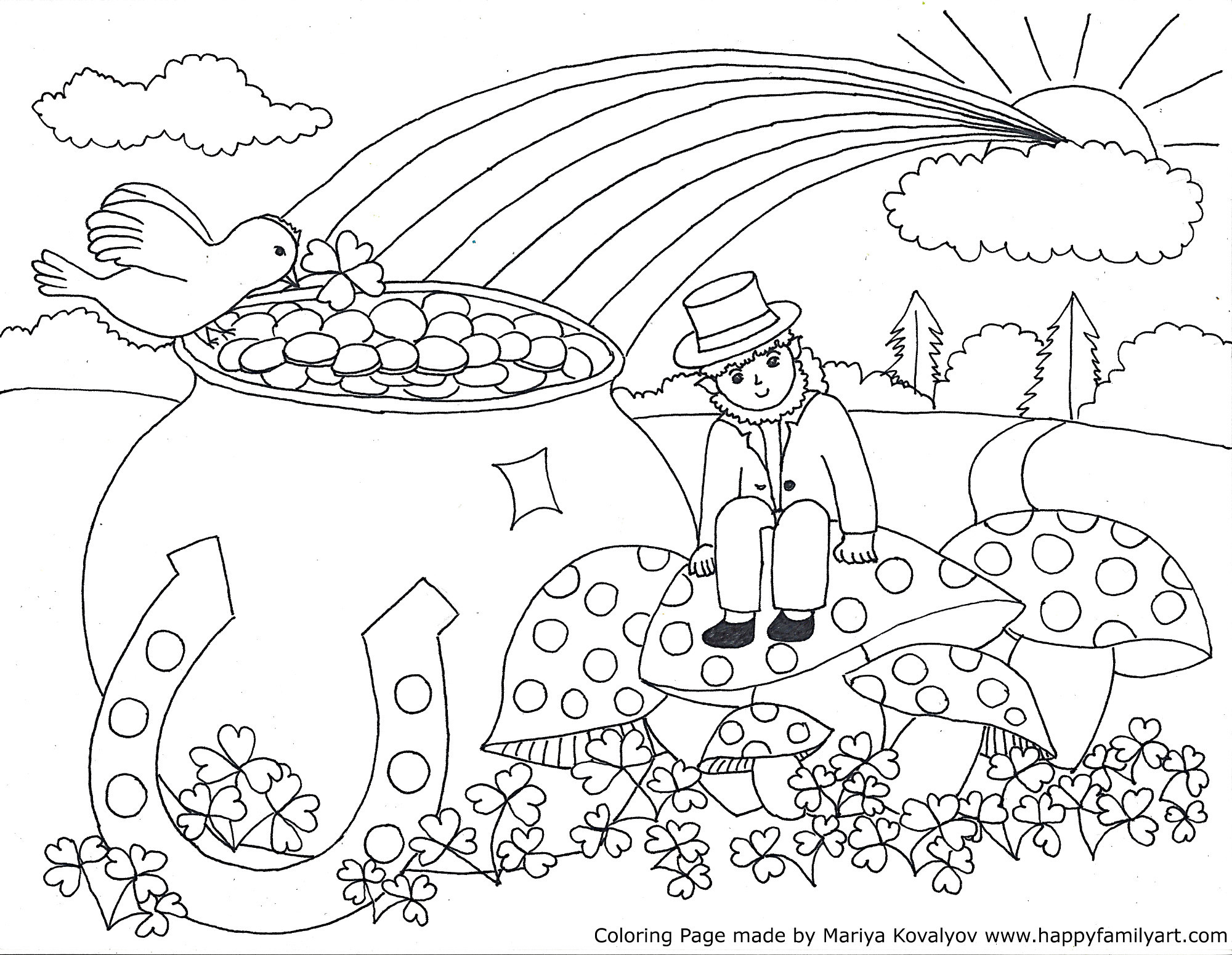 2000x1551 Hearts And Flowers Coloring Pages
