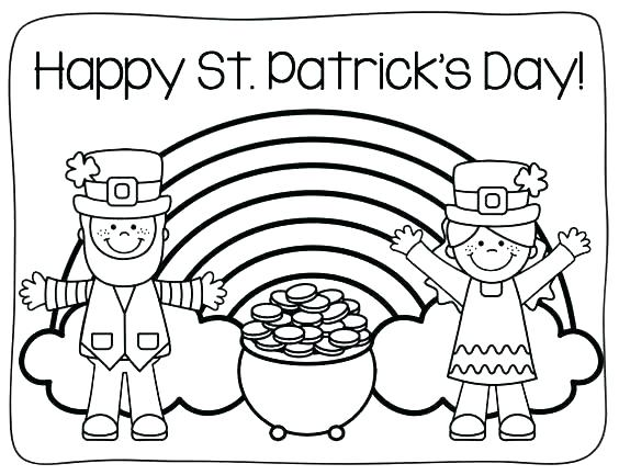 St Patrick Day Coloring Pages Disney At Getdrawings Free Download