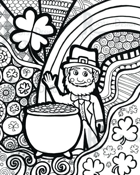 St Patricks Coloring Pages at GetDrawings.com | Free for ...