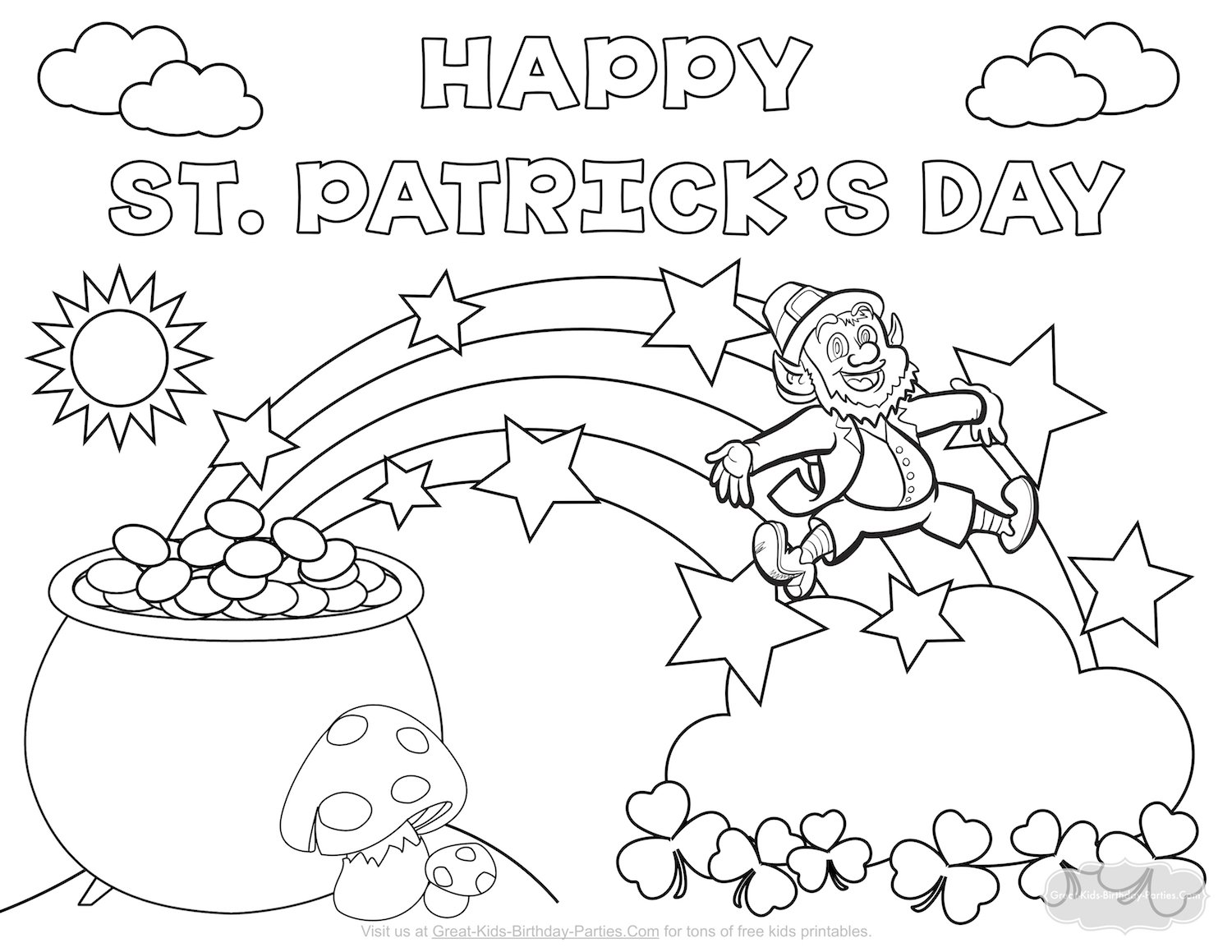 1500x1159 St Patrick Coloring Pages Patricks Picloud Co Ribsvigyapan St