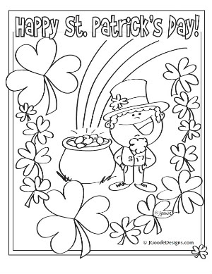 St Pattys Day Coloring Pages at GetDrawings.com | Free for ...