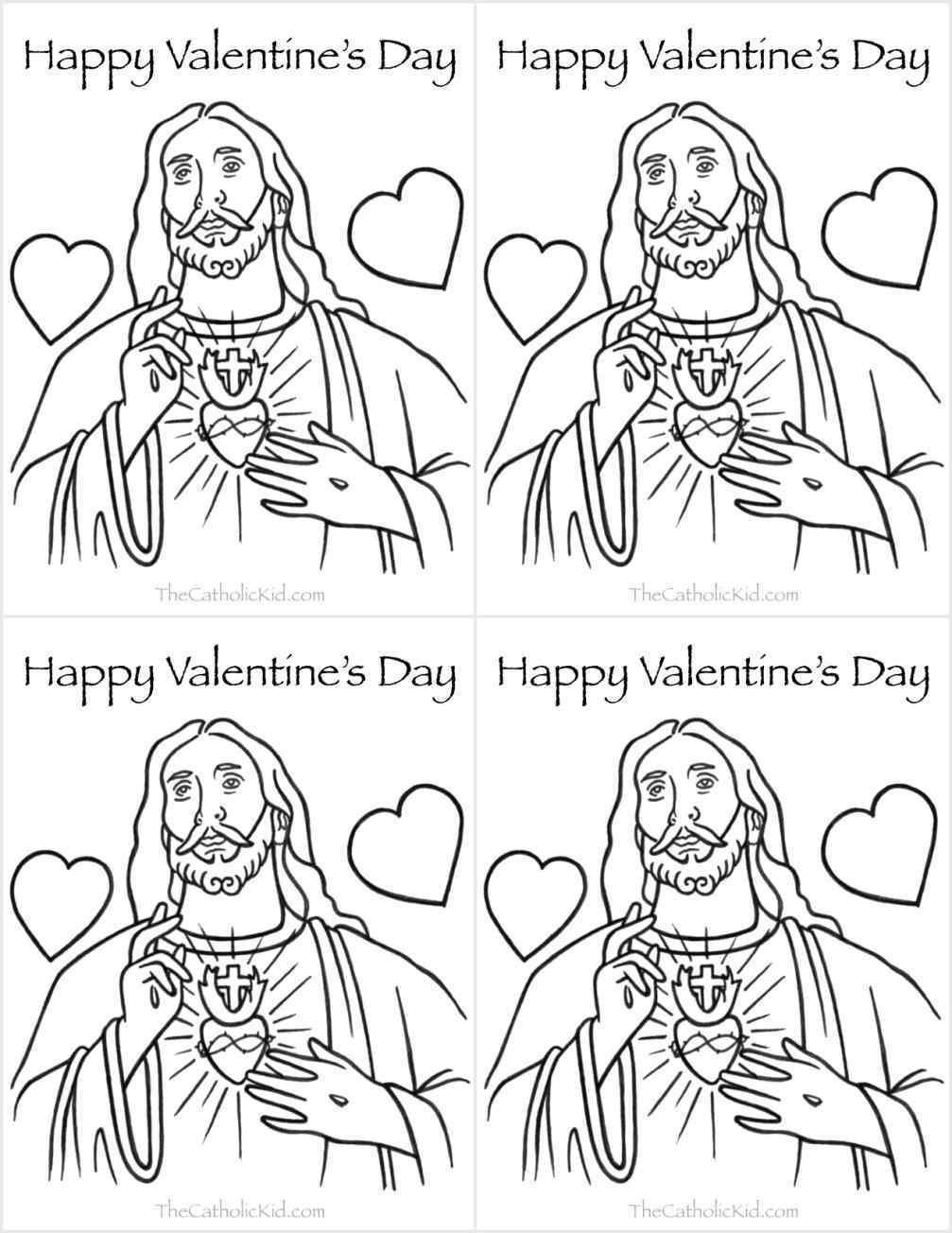 1007x1304 Pages Valentines Day Printable Image Saint Valentine Page St Saint