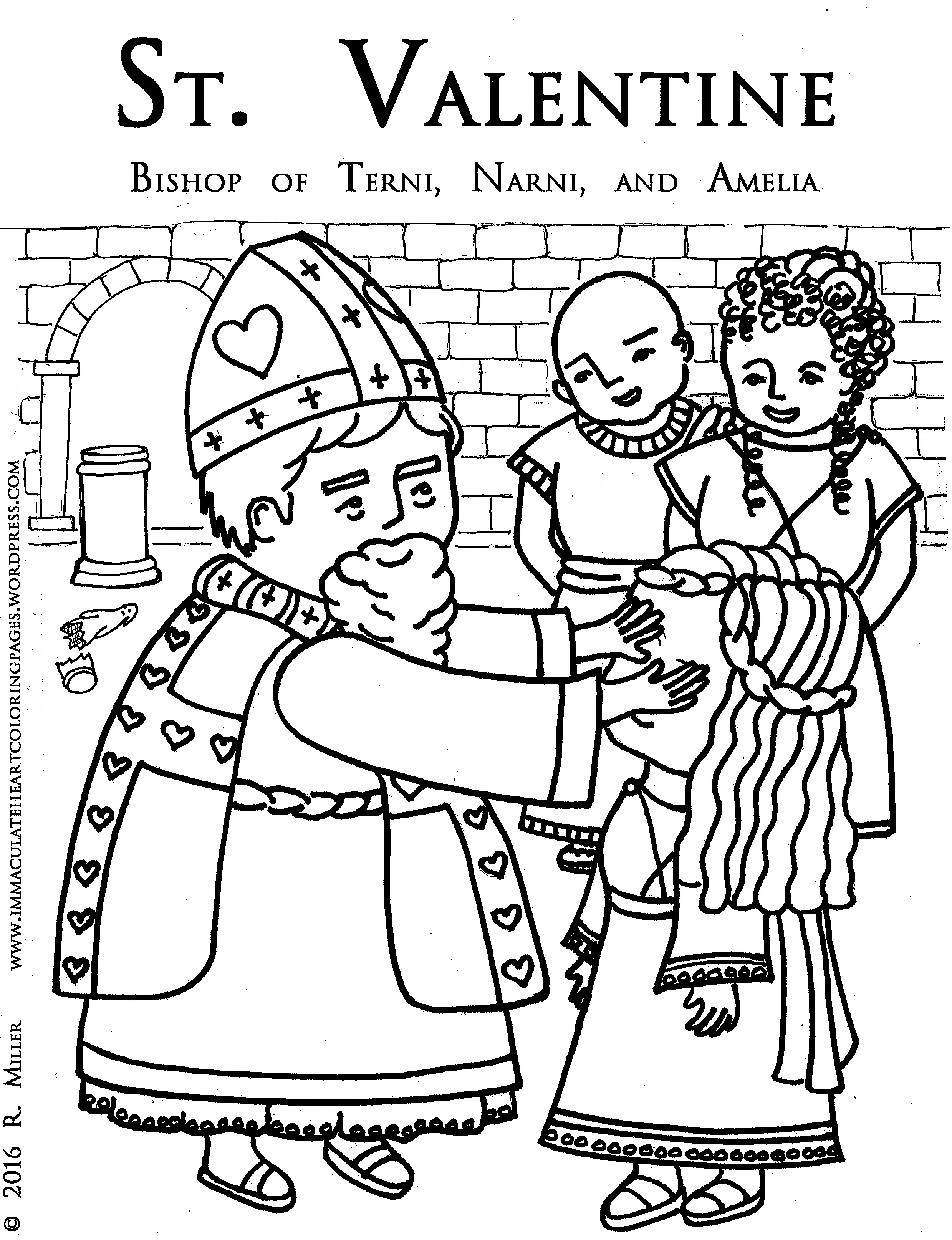 Faerlmarie Coloring Pages 34 St Valentine Coloring Pages