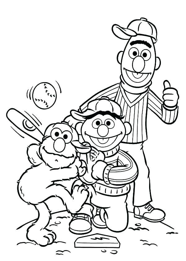 600x839 Baseball Field Coloring Book Baseball Color Pages Baseball