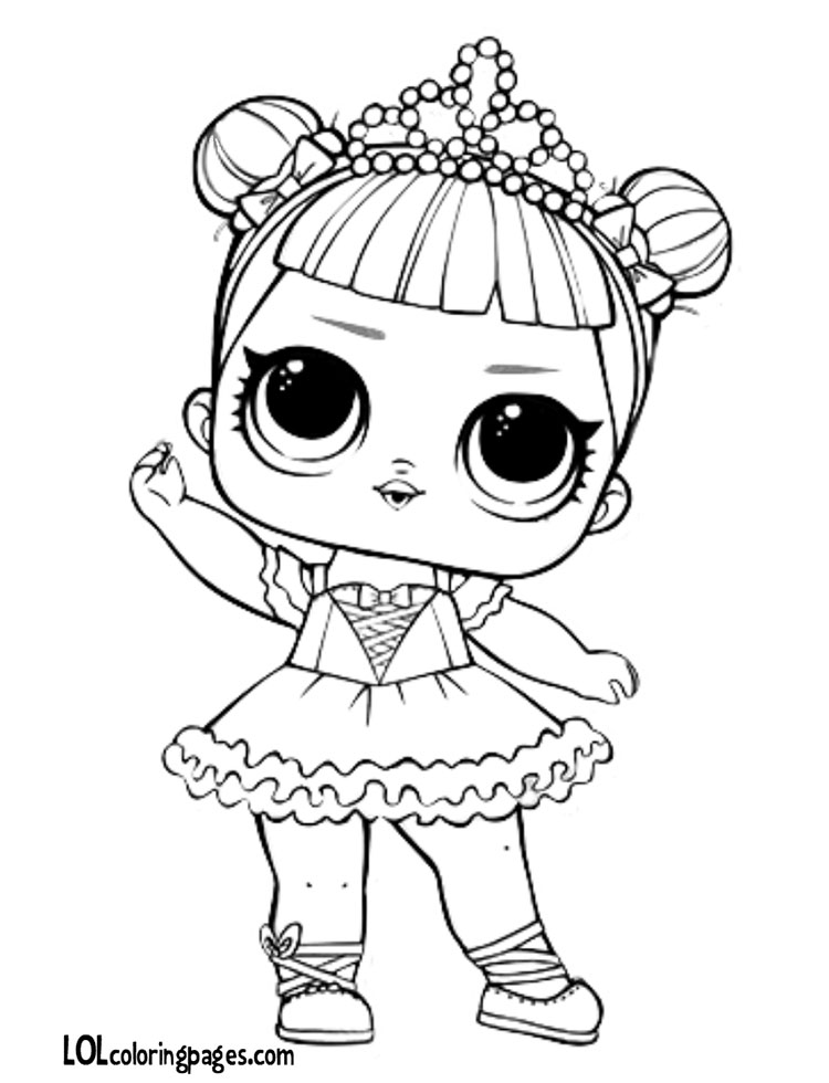 750x980 Center Stage Lol Doll Coloring Page Lol Surprise Doll Coloring Pages